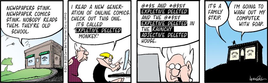 Rudy Park Comic Strip for June 23, 2021