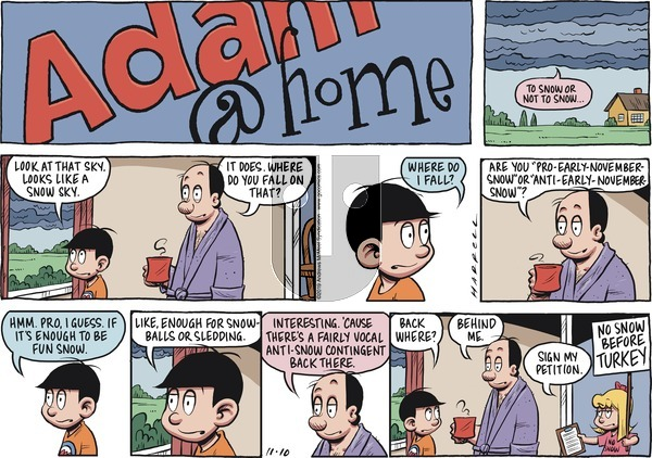 Adam@Home on Sunday November 10, 2019 Comic Strip