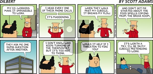Dilbert - Sunday September 30, 2018 Comic Strip