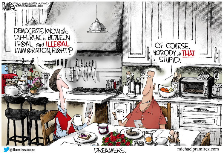 Michael Ramirez Comic Strip for June 06, 2019