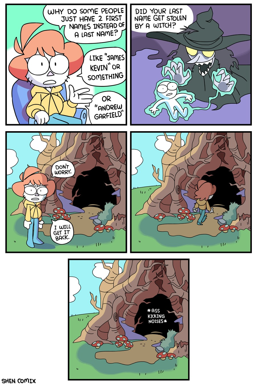 Shen Comix Comic Strip for May 02, 2021