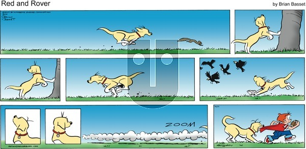 Red and Rover on Sunday October 3, 2021 Comic Strip