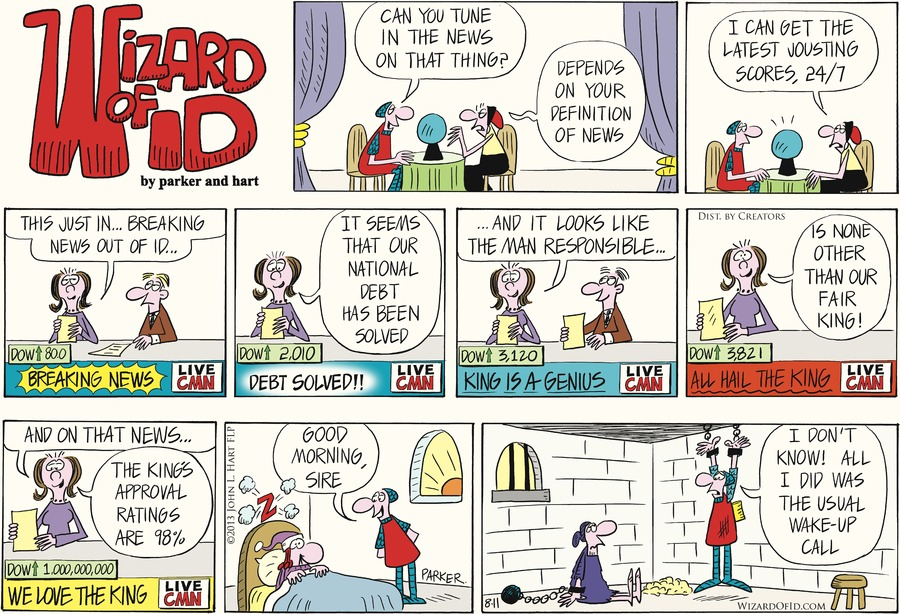 Wizard of Id Comic Strip for August 11, 2013
