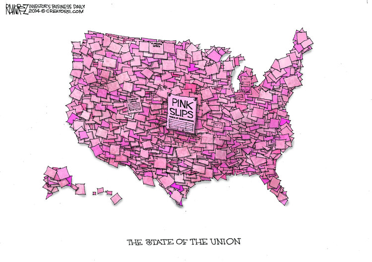 Michael Ramirez Comic Strip for January 29, 2014