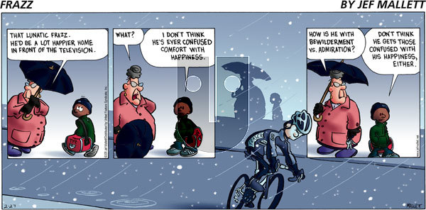Frazz on Sunday February 27, 2011 Comic Strip