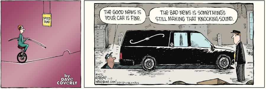 Speed Bump Comic Strip for January 17, 2021