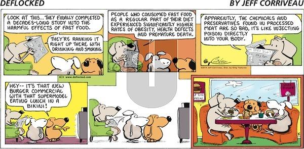 DeFlocked on Sunday August 3, 2014 Comic Strip