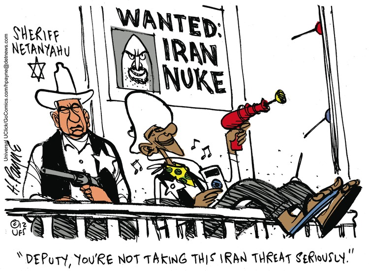 Deputy, you're not taking this Iran threat seriously.