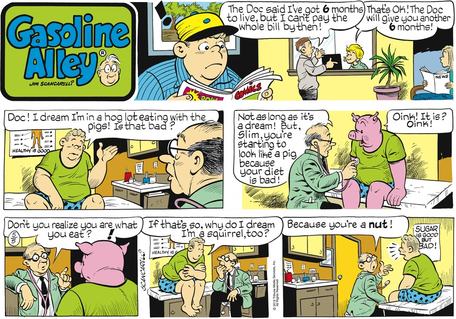 Gasoline Alley for May 5, 2013 Comic Strip