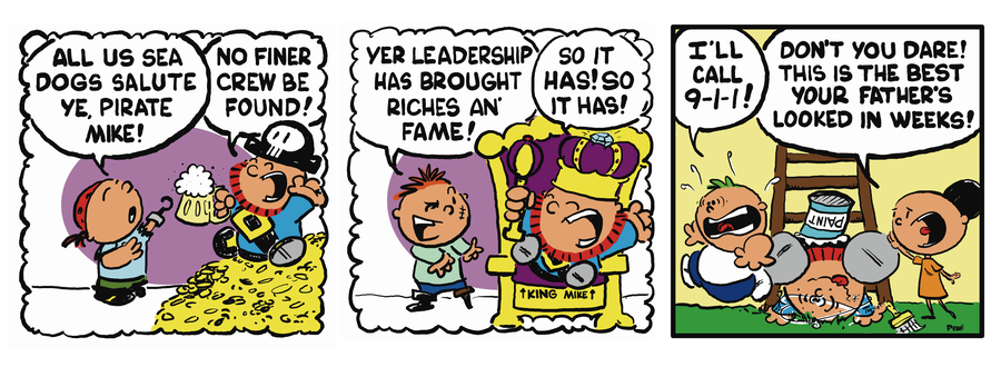 Pirate Mike Comic Strip for June 19, 2019