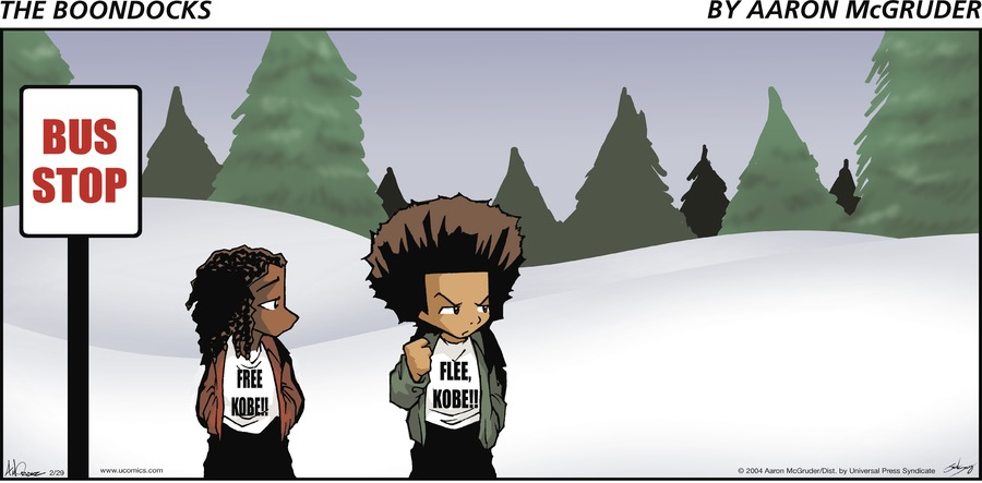 The Boondocks by Aaron McGruder for May 12, 2019