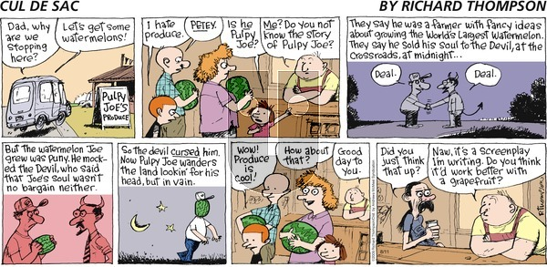 Cul de Sac on Sunday August 11, 2019 Comic Strip