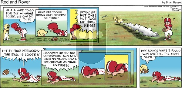 Red and Rover on Sunday November 1, 2015 Comic Strip