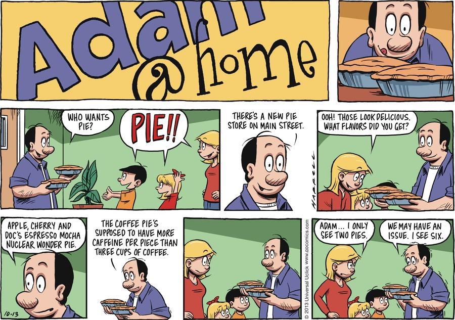 Adam@Home Comic Strip for October 13, 2013
