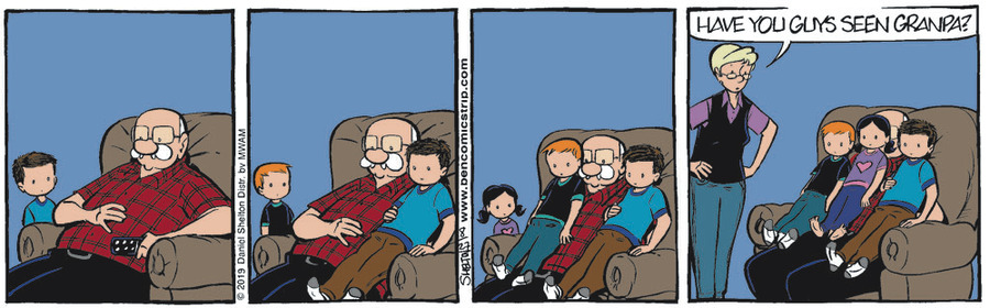 Ben Comic Strip for August 27, 2019