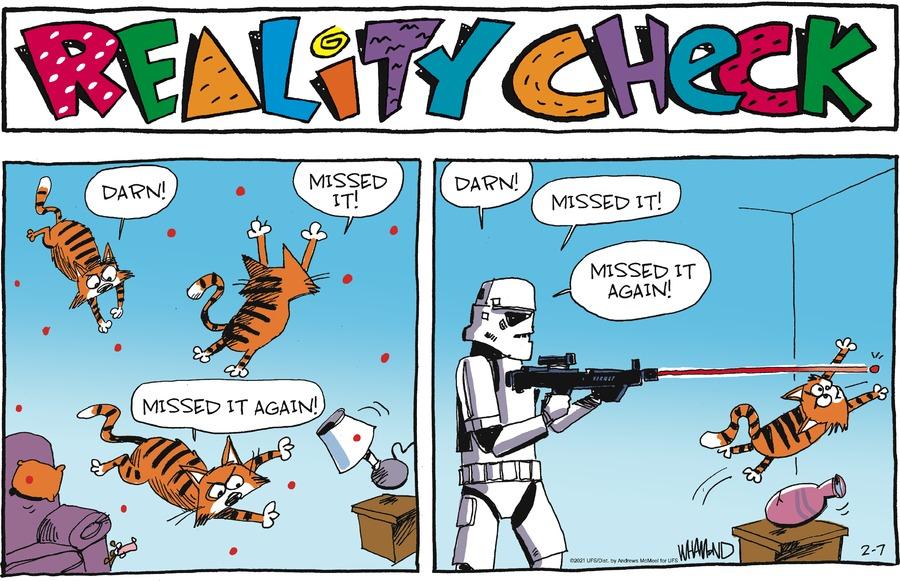 Reality Check by Dave Whamond on Sun, 07 Feb 2021
