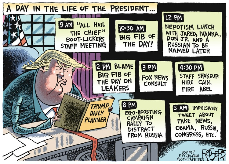 Rob Rogers Comic Strip for August 06, 2017