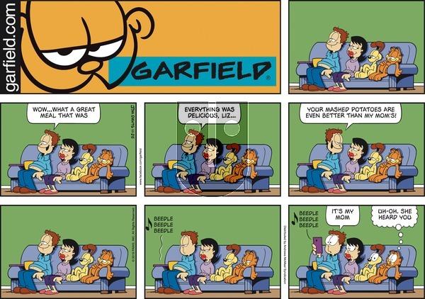 Garfield on November 25, 2018 Comic Strip