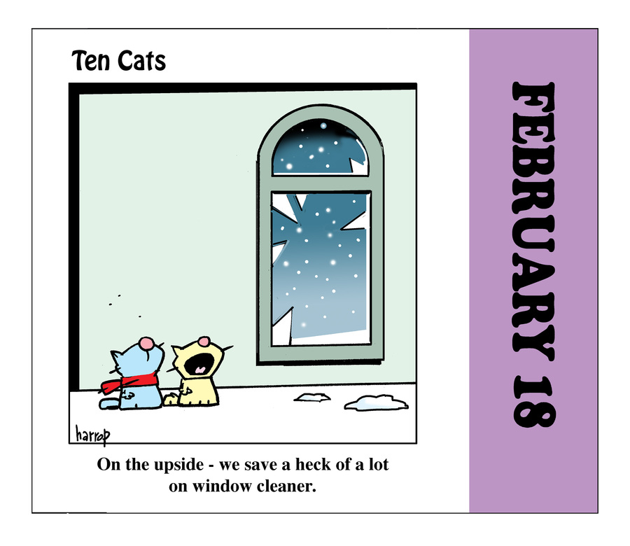 Ten Cats by Graham Harrop on Thu, 18 Feb 2021