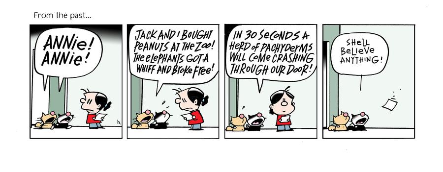 Ten Cats Comic Strip for April 10, 2021