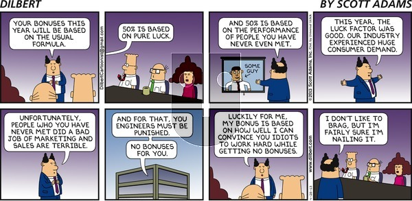 Dilbert - Sunday April 28, 2013 Comic Strip