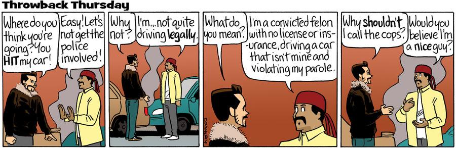 Beardo Comic Strip for March 19, 2015