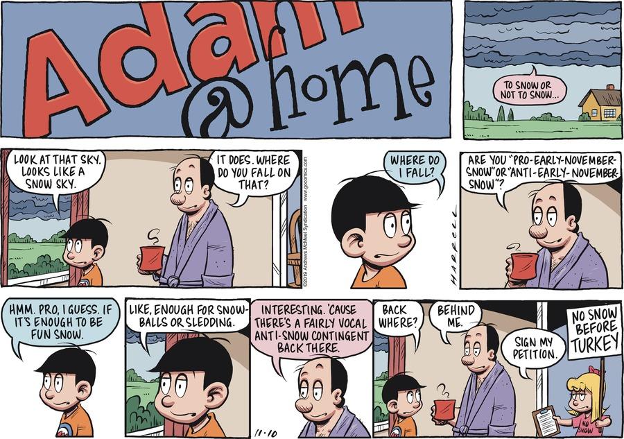 Adam@Home Comic Strip for November 10, 2019