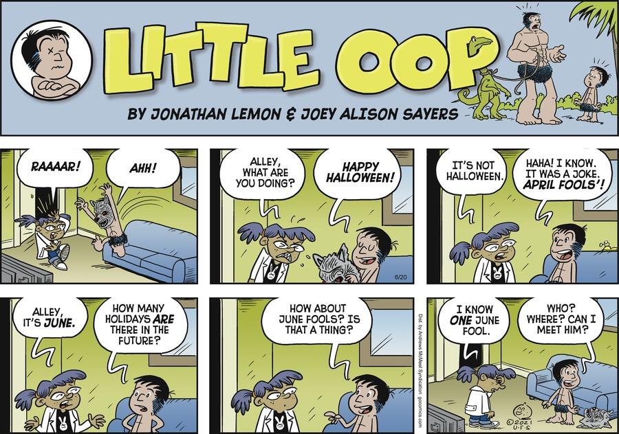 Alley Oop Comic Strip for June 20, 2021