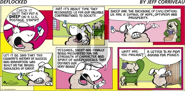 DeFlocked on Sunday May 8, 2016 Comic Strip