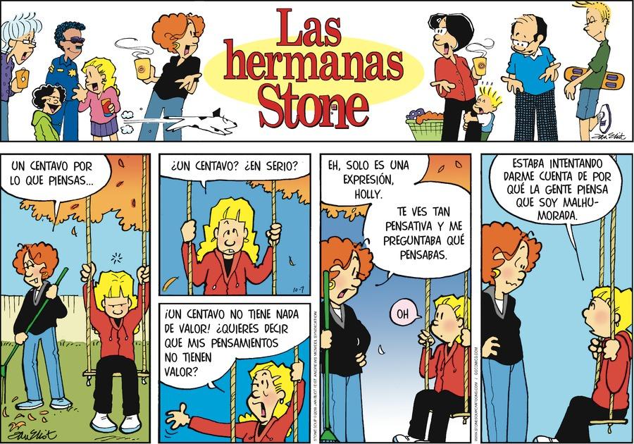 Las Hermanas Stone by Jan Eliot for October 07, 2018