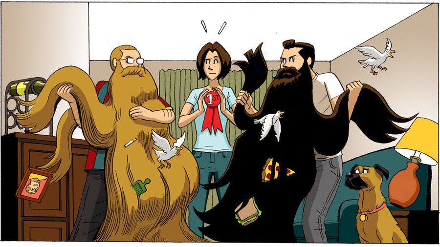Beardo Comic Strip for June 11, 2011