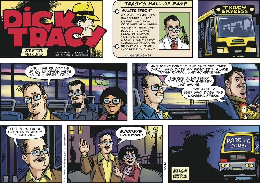 Dick Tracy by Mike Curtis and Shelley Pleger on Sun, 24 Oct 2021
