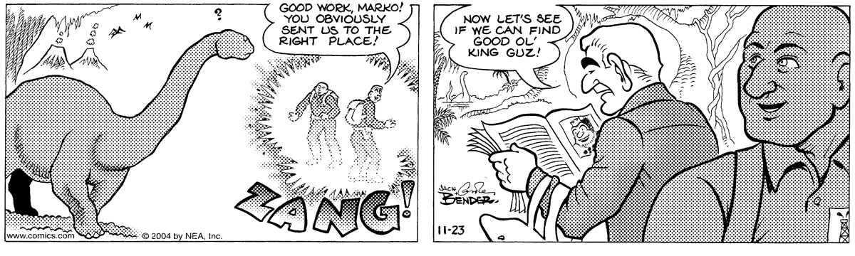 Alley Oop for Nov 23, 2004 Comic Strip