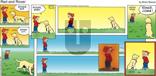 Red and Rover on Sunday March 22, 2020 Comic Strip