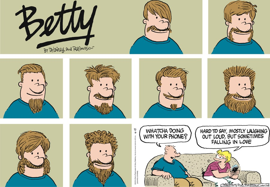 Betty Comic Strip for June 15, 2014