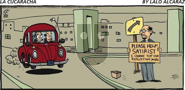 La Cucaracha on Sunday June 10, 2018 Comic Strip
