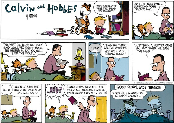 Calvin and Hobbes on Sunday May 9, 2021 Comic Strip