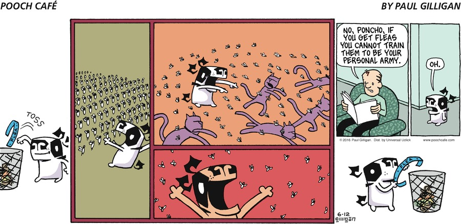 Pooch Cafe Comic Strip for June 12, 2016