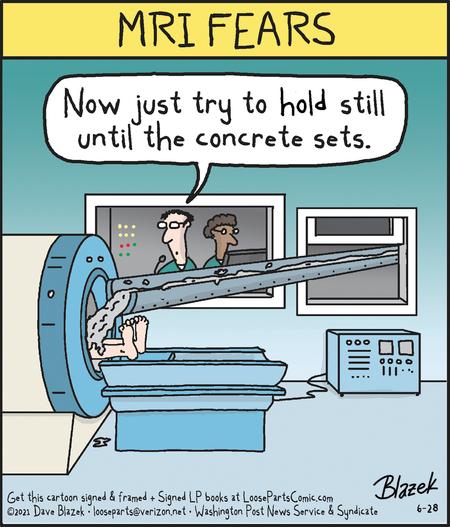 Loose Parts Comic Strip for June 28, 2021