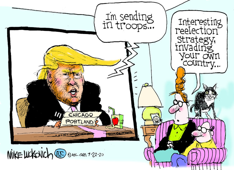 Mike Luckovich Comic Strip for July 22, 2020