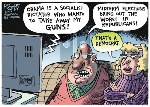 Rob Rogers on Sunday October 26, 2014 Comic Strip