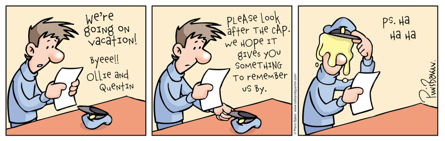 Ollie and Quentin Comic Strip for June 18, 2016