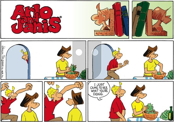 Arlo and Janis on Sunday July 24, 2005 Comic Strip