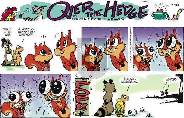 Over the Hedge on Sunday September 19, 2021 Comic Strip