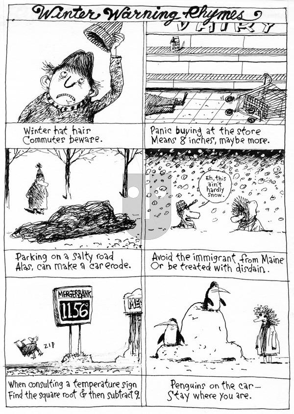Richard's Poor Almanac on Sunday December 20, 2015 Comic Strip