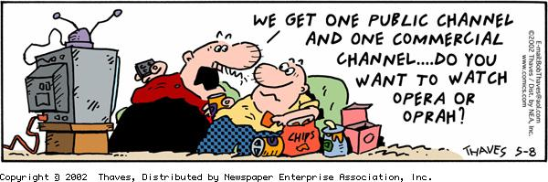 Frank and Ernest for May 8, 2002 Comic Strip