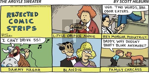 The Argyle Sweater on Sunday August 25, 2013 Comic Strip