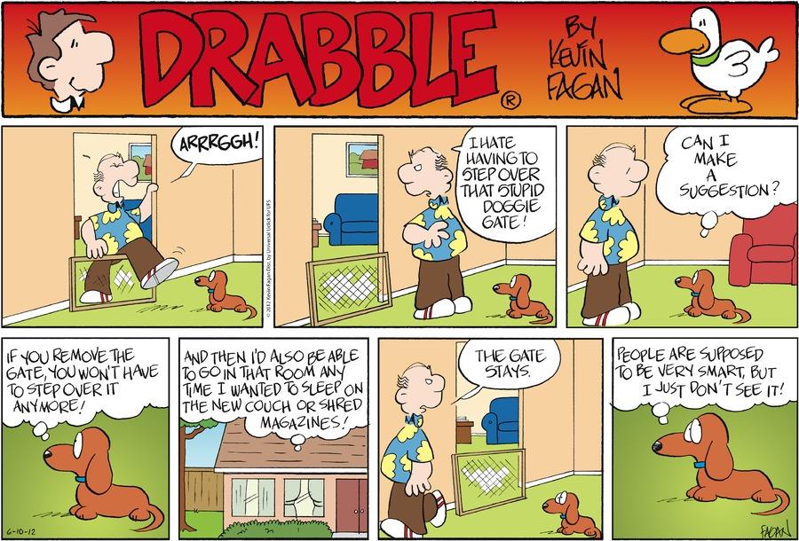 Drabble for Jun 10, 2012 Comic Strip