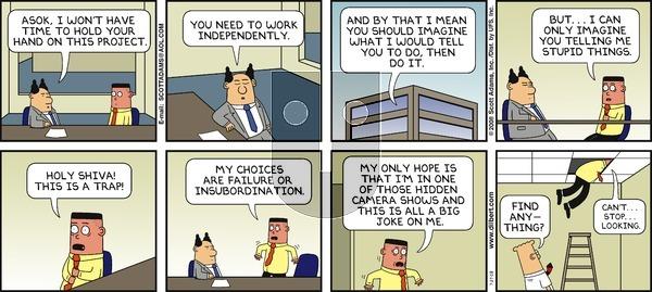 Dilbert - Sunday July 27, 2008 Comic Strip
