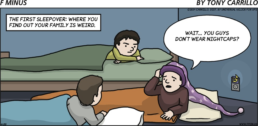 F Minus for Apr 20, 2014 Comic Strip